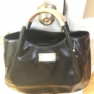 NWT Patent Leather Kate Spade Satchel w/Dust Bag